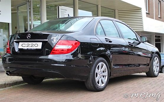 Rear view » 2011 Mercedes C 220  Automatic