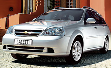 Front view » 2006 Chevrolet Lacetti SW