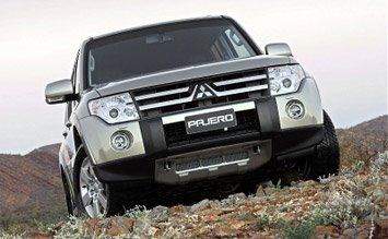 Front view » 2007 Mitsubishi Pajero
