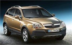Front view » 2009 Opel Antara 4x4