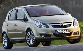 Front view » 2008 Opel Corsa