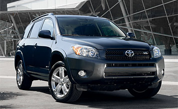 Front view » 2008 Toyota RAV4 4WD
