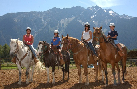 Reiten in Rhodopes