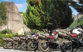 Туры на мотоцикле в горах Болгарии