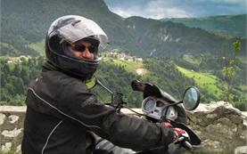 Dracula castle via Transfagarashan Motorcycle Trip