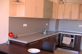 Fully equipped kitchen - Sofia Business Park Apartment