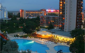 Night view - Iskar hotel