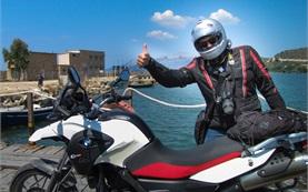 Rmania motorbike tour