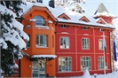 Sokol Hotel - Front view winter