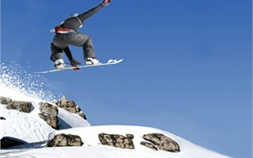 Snowboard rental in Borovets ski resort