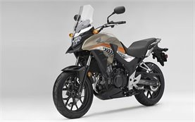 Honda CB500X - motorcycle rental in Athens