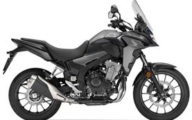 Honda CB500X - motorcycle rental in Crete