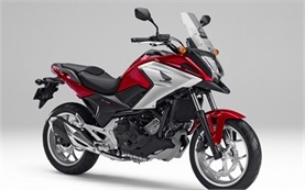Honda NC750X DCT - мотоцикл напрокат в Польше