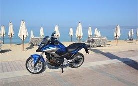 Honda NC750X - motorradvermietung in Mallorca