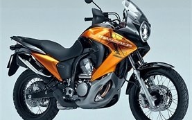 Honda Transalp 700cc motorbike rental in Olbia - Sardinia