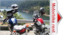 Motorcycle rental in Bulgaria and Europe