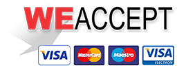 Online Credit Card Payment - Visa, MasterCard, American Express, Dinners Club, JCB, Bank Transfer