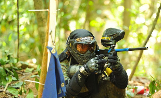 Paintball game in Sofia - Bulgaria