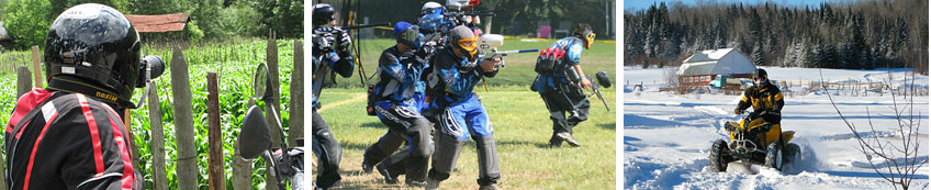 Paintball games in Sofia Bulgaria