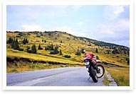 Self-guided motorcycle tours