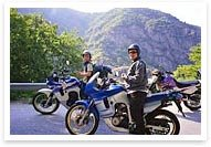 Weekend motorcycle tours