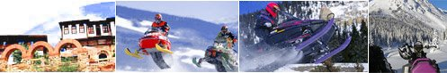 Snowmobiling in Bulgaria. Rent A Snowmobile.