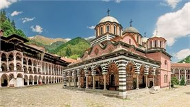 Visit Rila monastery by rental car - one hour drive only!