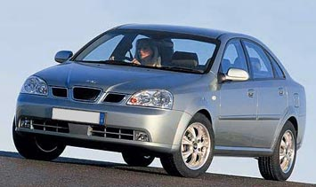 bulgaria car rental   rent chevrolet nubira 2005