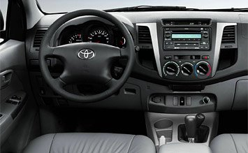 Inteiror » 2007 Toyota Hilux