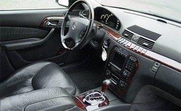 Interior » 2001 Mercedes S 500