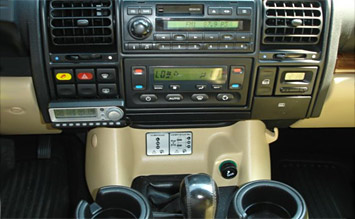 Interior » 2002 Land Rover Discovery