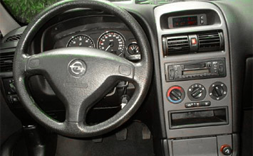 Interior » 2003 Opel Astra Estate