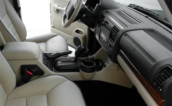 Interior » 2004 Land Rover Discovery