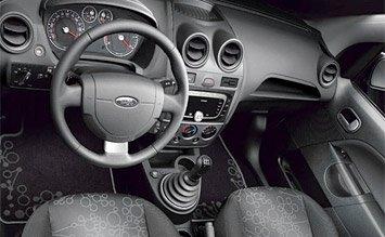 Салон » 2005 Форд Фиеста