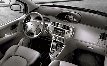 Interior » 2005 Hyundai Matrix