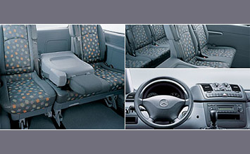 Interior » 2005 Mercedes Vito 8+1