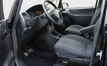 Interior » 2005 Opel Zafira 6+1