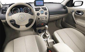 Interior » 2005 Renault Megane Sedan