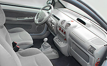Interior » 2005 Renault Twingo - photos