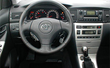 Interior 2005 toyota corolla photos for Toyota corolla 2003 interior