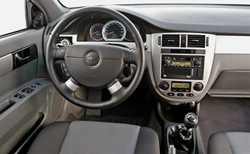 Interior » 2006 Chevrolet Nubira