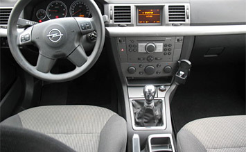 Interior » 2006 Opel Vectra Wagon