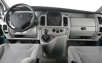 Interior » 2008 Opel Vivaro 8+1