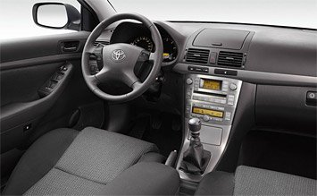 Салон » 2006 Тойота Авенсис