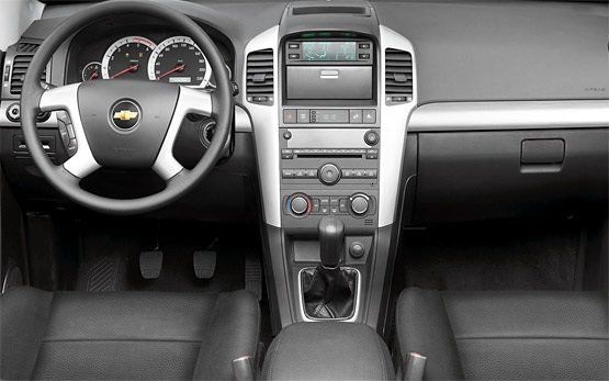 Interior » 2007 Chevrolet Captiva 6+1