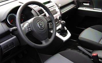 Interior 2007 Mazda 5 Minivan Photos