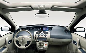 Interior 2007 Renault Grand Scenic Photos