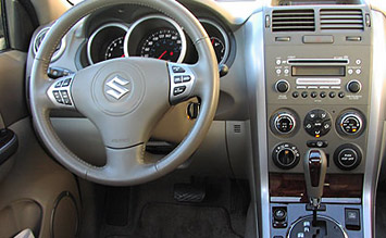 Interior » 2007 Suzuki Grand Vitara