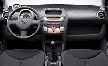 Интериор » 2007 Тойота Айго