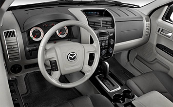 Bike Rental Paris >> Interior » 2008 Mazda Tribute 4x4 Automatic - photos